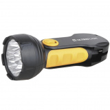 Ultraflash LED3816   (фонарь аккум 220В, черный/желтый, 9 LED, SLA, пласт, склад. вилка, коробка) [1/5/60?]