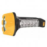 Ultraflash LED3819   (фонарь аккум 220В, черн/желт, 15+10 LED, 2 режима, SLA, пласт, коробка) [1/5]