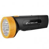 Ultraflash LED3829   (фонарь аккум 220В, черн /желт, 9 LED, SLA, пластик, коробка) [1/5]