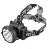 Ultraflash LED5362 (фонарь налобн аккум 220В, черный, 7LED, 2 реж, пласт, бокс) [1/5]