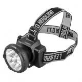 Ultraflash LED5363 (фонарь налобн аккум 220В, черный, 9LED, 2 реж, пласт, бокс) [1/5]