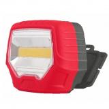 Ultraflash 922-TH (фонарь налобн, красн.+ черн., 3 Ватт COB LED, 1 реж, 3XR6, пласт. блист - пакет) [1/20]
