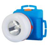 Ultraflash 923-TH (фонарь налобн, синий, 1+8LED, 2 реж, 3XR6, пласт, коробка) [1/50]