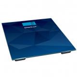 ERGOLUX ELX-SB03-C45, Весы напольные электронные, Нагрузка 180 кг, Литиевая батарея в комплекте (1хCR2032), абстракция синяя [1/8]