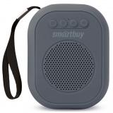 Smartbuy BLOOM Портативная акустическая система, 3Вт, Bluetooth, MP3, FM-радио, серая (SBS-180) [1]