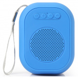 Smartbuy BLOOM Портативная акустическая система,  3Вт, Bluetooth, MP3, FM-радио, синяя (SBS-150) [1]