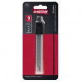Smartbuy tools Лезвия сменные 9 мм, для ножей строительных, отлам., заостр. торец, 10 шт (SBT-SKT-9) [1/20?]