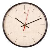 2019-114 (10) Часы настенные круг d=19,5см, корпус черный