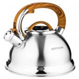Hoffmann 55160 чайник со свистком, кор. ручка, 3,3л. [1/12?]