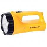 Ultraflash LED3816SM   (фонарь аккум. 220В, желт., 9LED, 2 режима,  SLA, пласт., коробка) [1/40?]
