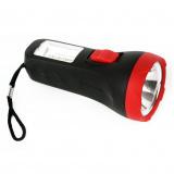 Ultraflash LED16014  (фонарь, черный, 1 + 4SMD LED, 2 реж, 1XR6, пласт, блист-пакет) [1/25]