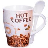 Lorain 28467 Кружка COFFEE 340 мл с ложкой LR [1/36]