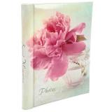 """Фотоальбом 10 """"магнитных""""листов 23X28см, пер-т внутр.спираль, Delicate flowers [1/24?]"""