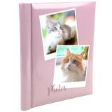 """Фотоальбом 10 """"магнитных""""листов 23X28см, пер-т внутр.спираль, Puppies and kittens [1/24?]"""