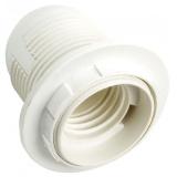 General GLH-E27-HRP-H-W-R, Патрон термостойкий пластик, Е27, подвесной, с кольцом, белый [1/600]