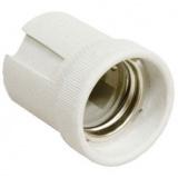 General GLH-E14-CER-H-W, Патрон керамический, Е14, подвесной, белый [1/400]