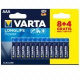 бат.  VARTA LR03 LONGLIFE POWER BL8+4 [12/240]