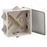 ЭРА KUPR 85х85х40мм Коробка уравнивания потенциалов для откр.установки [1/60]
