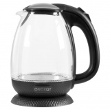 ENERGY E-250 Чайник электрический, Мощность: 1850-2200Вт, Объем 1,7 л, стекло, пластик [1/6?]
