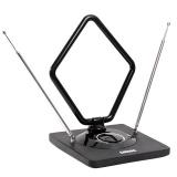 Антенна комнатная DVB-T2 и ДМВ+МВ активная Сигнал SAI 975 усы 1м кабель 3м, с рег. [1/10?]