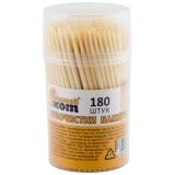 Зубочистки TP-180, бамбуковые, 180 штук, Рыжий кот [1/50?]