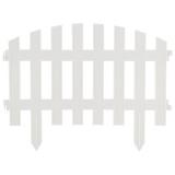 """Забор декоративный """"RENESSANS"""" белый (5 секций) [1/7]"""