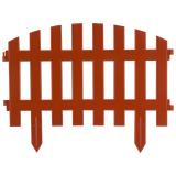 """Забор декоративный """"RENESSANS"""" терракот (5 секций) [1/7]"""