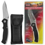 ECOS EX-135 G10 Нож туристический складной черный [1/10?]