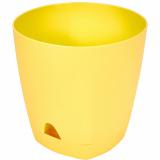PlastRep Горшок для цветов AMSTERDAM D 170 mm/2,5l с прикорневым поливом Спелая груша [1/12]