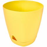 PlastRep Горшок для цветов  AMSTERDAM D 250mm/8l с прикорневым поливом Спелая груша [1/6]