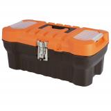 """PlastRep Ящик для инструментов Expert 16"""" черный/оранжевый [1/14]"""