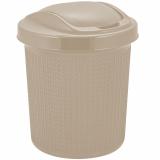 PlastRep Контейнер для мусора Ajur 12 л айвори [1/8]