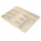 PlastRep Лоток для столовых приборов Bono сливочный крем [1/36]