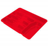 PlastRep Лоток для столовых приборов Bono сочный томат [1/36]
