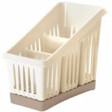 PlastRep Сушилка для столовых приборов 3х-секционная Bono сливочный крем/капучино [1/35]