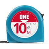 Smartbuy OneTools Рулетка измерительная, 10мх25мм, пластиковый корпус, фиксатор, усиленный зацеп [1?]