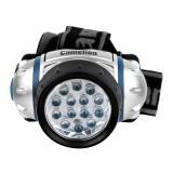 Camelion LED5312-14F4 (фонарь налобн, металлик, 14LED, 4 реж, 3XR03 в компл, пласт, блист) [1/6]