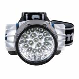 Camelion LED5323-19Mx (фонарь налобн, металлик,19 ультра ярк LED, 4 реж, 3XR03 в компл, пласт, блис) [1/6]
