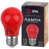 ERARL50-E27 ЭРА LED A50-3W-E27 ЭРА (диод. груша красн., 13SMD, 3W, E27, для белт-лайт) [1/10/100?]