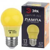 ERAYL50-E27 ЭРА LED A50-3W-E27 ЭРА (диод. груша желт., 13SMD, 3W, E27, для белт-лайт) [1/10/100?]